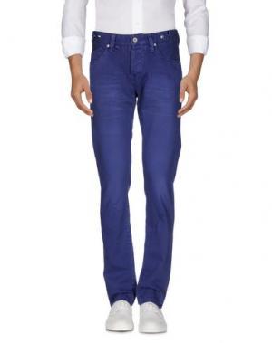 Джинсовые брюки JFOUR. Цвет: темно-фиолетовый