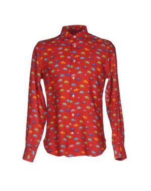 Pубашка MOSAIQUE. Цвет: красный