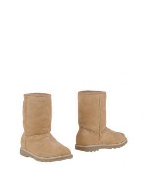 Полусапоги и высокие ботинки EQUERRY. Цвет: песочный