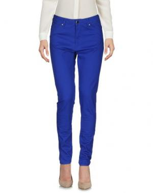 Повседневные брюки MAISON KITSUNÉ. Цвет: ярко-синий