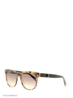 Солнцезащитные очки MAXMARA. Цвет: черный