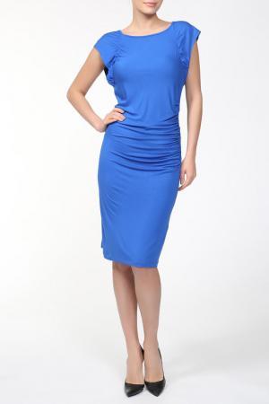 Платье Carla B. Цвет: синий