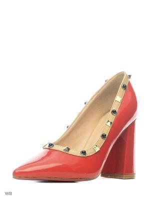 Туфли VIVIAN ROYAL. Цвет: красный