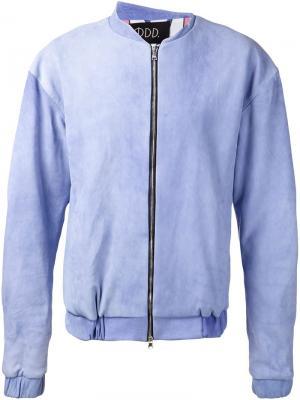 Классическая куртка-бомбер Ødd.. Цвет: синий