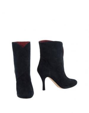 Полусапоги и высокие ботинки MINA BUENOS AIRES. Цвет: темно-синий