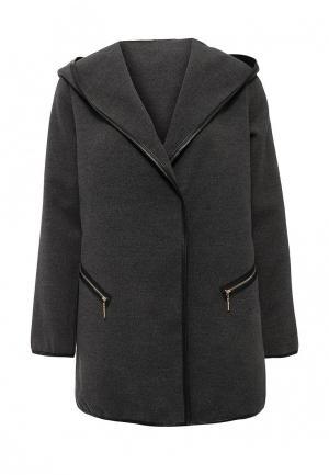 Пальто Edge Clothing. Цвет: черный