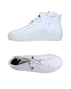 Высокие кеды и кроссовки DOLFIE. Цвет: белый