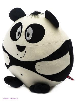 Круглик мишка Fancy. Цвет: черный, белый