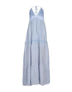 Длинное платье GIORGIA & JOHNS. Цвет: грифельно-синий