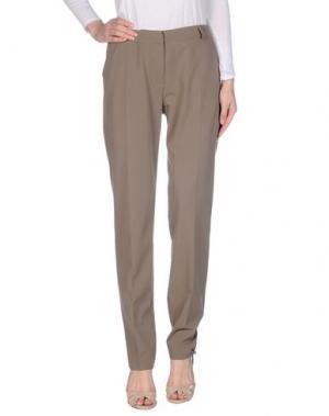 Повседневные брюки PAULIE. Цвет: голубиный серый