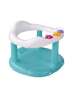 Сиденье детское для купания (бирюзовый) Альтернатива. Цвет: белый, бирюзовый