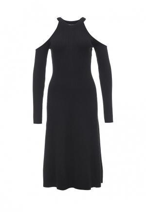 Платье BCBGMAXAZRIA. Цвет: черный