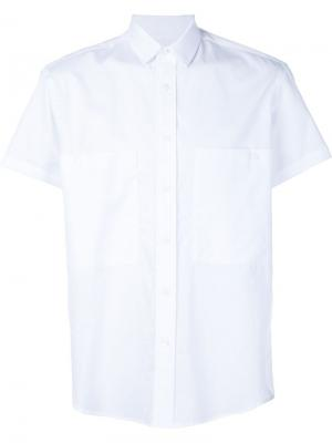 Рубашка с короткими рукавами Death To Tennis. Цвет: белый