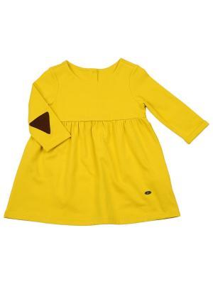 Туника Mini Maxi. Цвет: желтый