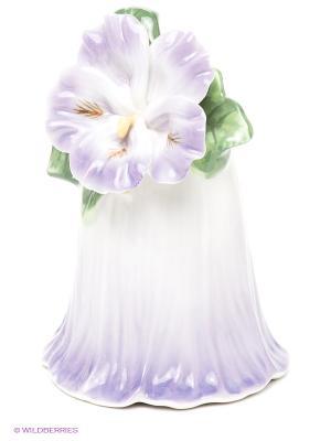 Колокольчик Райский цветок Pavone. Цвет: фиолетовый, зеленый