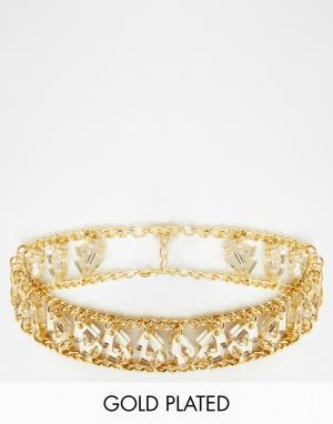 Finchittida Короткое ожерелье эксклюзивно для Finchitiida Laos. Цвет: золотой