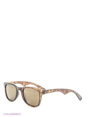 Солнцезащитные очки CARRERA. Цвет: оливковый