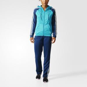 Спортивный костюм New Young  Performance adidas. Цвет: зеленый