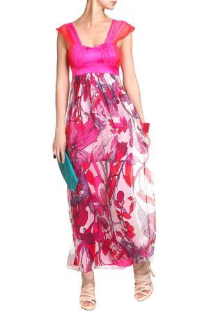 Платье D.Exterior. Цвет: розовый