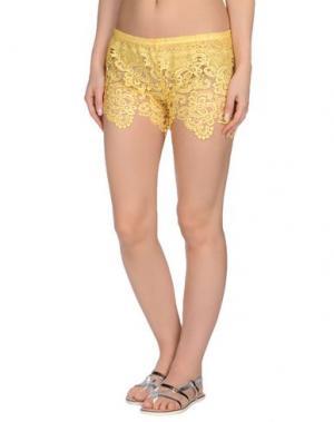 Пляжные брюки и шорты F**K PROJECT. Цвет: желтый