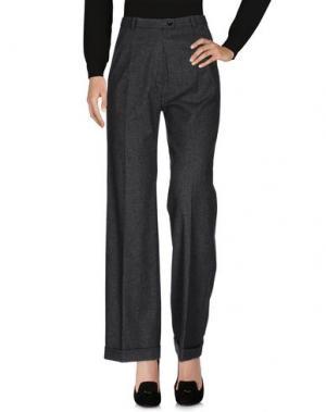 Повседневные брюки MARIO BORSATO. Цвет: серый