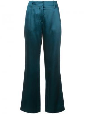 Широкие брюки Sies Marjan. Цвет: зелёный