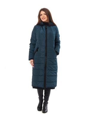 Пальто Best&Best. Цвет: бирюзовый