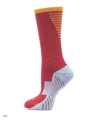 Носки U NK SQUAD CREW Nike. Цвет: красный
