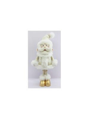 Кукла Дед Мороз 50 см, золото Новогодняя сказка. Цвет: золотистый
