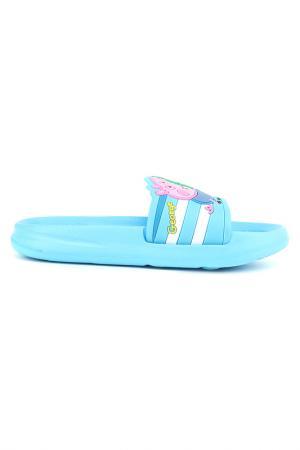 Пантолеты купальные Peppa Pig. Цвет: голубой