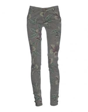 Повседневные брюки HYDROGEN. Цвет: хаки