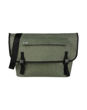 Деловые сумки NAVA. Цвет: зеленый-милитари