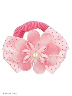 Резинка для волос Русский бант. Цвет: розовый