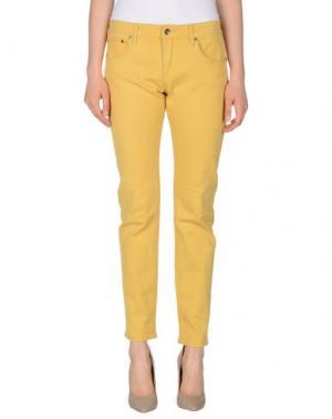 Джинсовые брюки ROXY. Цвет: охра