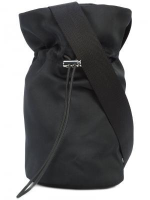 Сумка на шнурке через плечо Nomia. Цвет: чёрный