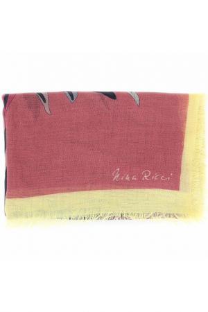 Палантин Nina Ricci. Цвет: коричневый