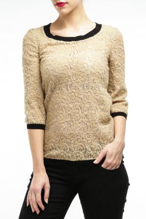 Пуловер Mariella Burani. Цвет: бежевый