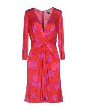 Короткое платье ISSA. Цвет: пурпурный