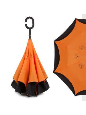 Зонт Flioraj. Цвет: оранжевый
