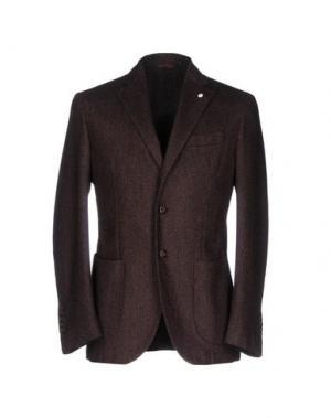Пиджак L.B.M. 1911. Цвет: красно-коричневый