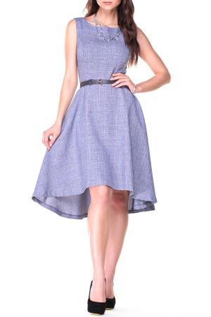 Платье Dioni. Цвет: фиолетовая дымка