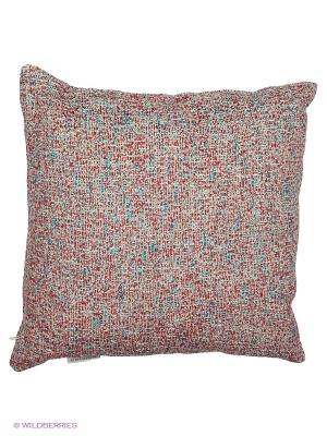 Подушка PRIVIUM. Цвет: бежевый, красный, бирюзовый
