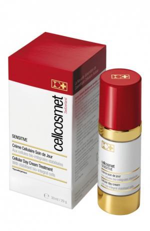 Дневной крем для чувствительной кожи Cellcosmet&Cellmen. Цвет: бесцветный