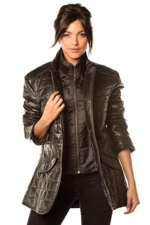 Куртка Pellessimo. Цвет: черный