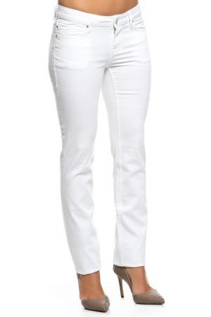 Брюки джинсовые Mustang. Цвет: белый