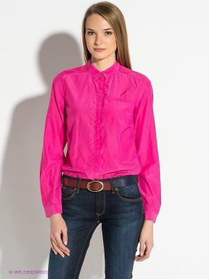 Блузка Tommy Hilfiger. Цвет: фуксия