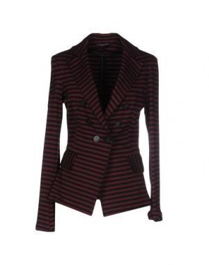 Пиджак MY SIS. Цвет: красно-коричневый
