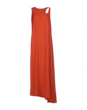 Длинное платье OPENING CEREMONY. Цвет: красный