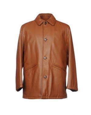 Куртка MABRUN. Цвет: коричневый