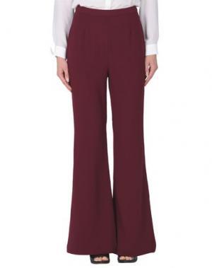 Повседневные брюки C/MEO COLLECTIVE. Цвет: красно-коричневый